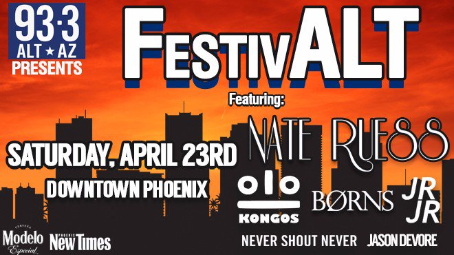 BREAKING! Alt AZ 93.3 FestivAlt Schedule FINALLY Released!