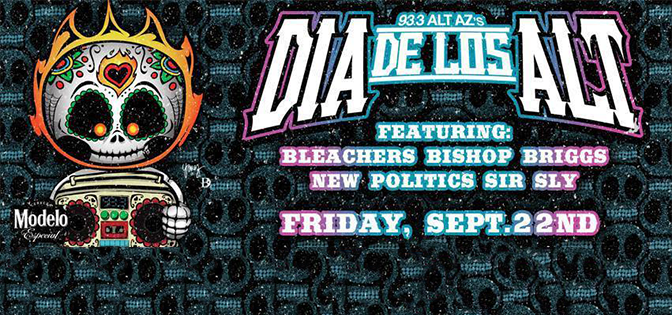 REVIEW: Bleachers, Bishop Briggs, New Politics, and Others Rock Mesa for Dia De Los ALT! 9-22-17