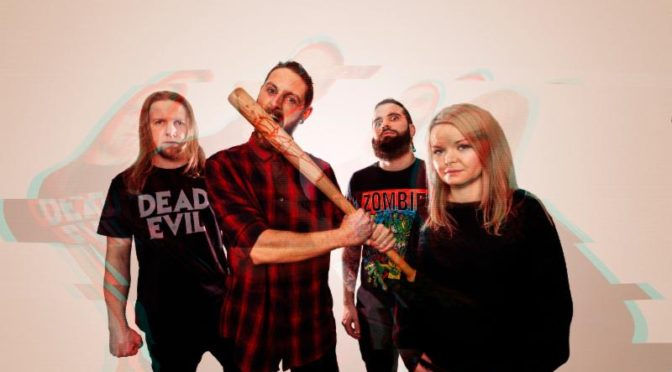 "Irish Modern Metal Quartet DEAD LABEL Reveals New Music Video for ""False Messiah"""
