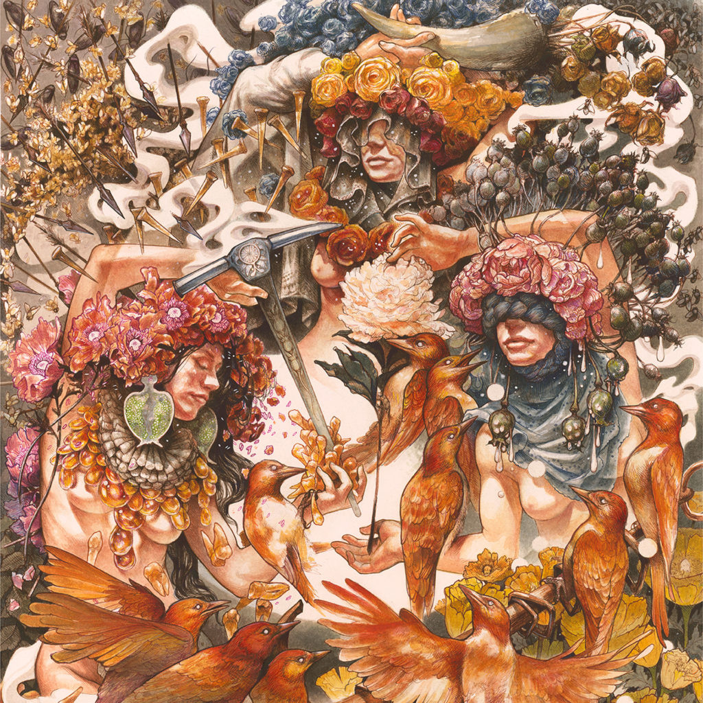 Baroness Gold & Grey Album Cover