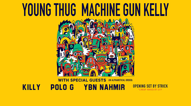 Young Thug and Machine Gun Kelly Announce North American Fall Tour
