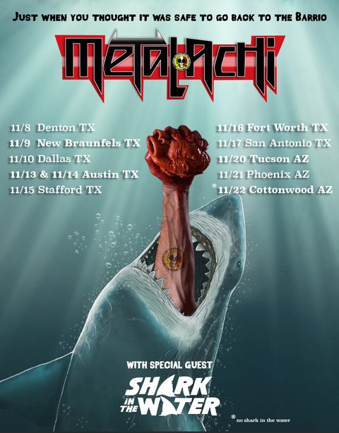 Metalachi Tour Poster