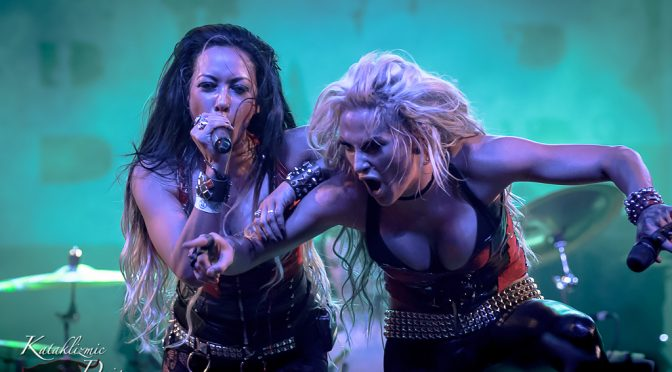 REVIEW: Butcher Babies Makes Tempe Scream 5-9-16