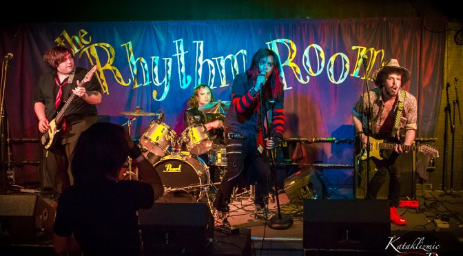 PHOTOS: Unagi Usagi – The Rhythm Room 2-16-17