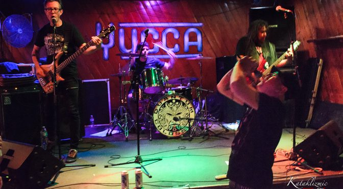 REVIEW: Space Punk Zombies From The Future, Quantum Colossus, Shred Faces At The Yucca Tap 3-3-17