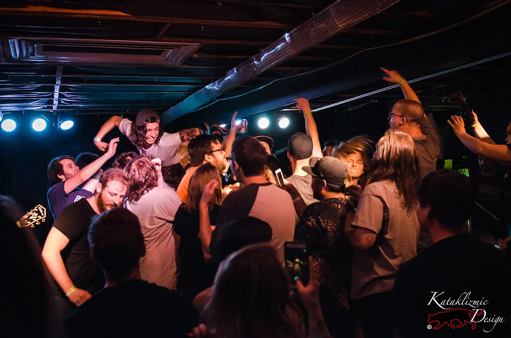 Mosh Pit, Crowdsurfing - Photo Credit: Katherine Amy Vega