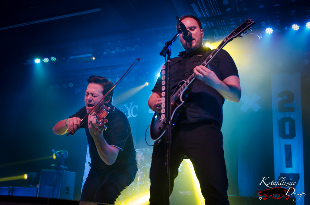 Sean Mackin, Ryan Mendez, Yellowcard - Photo Credit: Katherine Amy Vega