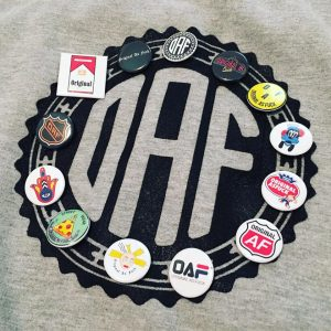 Original As Fuck apparel logo with buttons