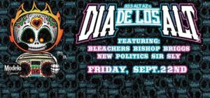 ALT AZ 93.3's Dia De Los ALT banner