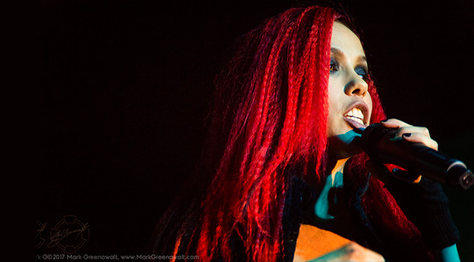 REVIEW: Miss Krystle Showcases New EP At Intimate Private Studio 11-11-17