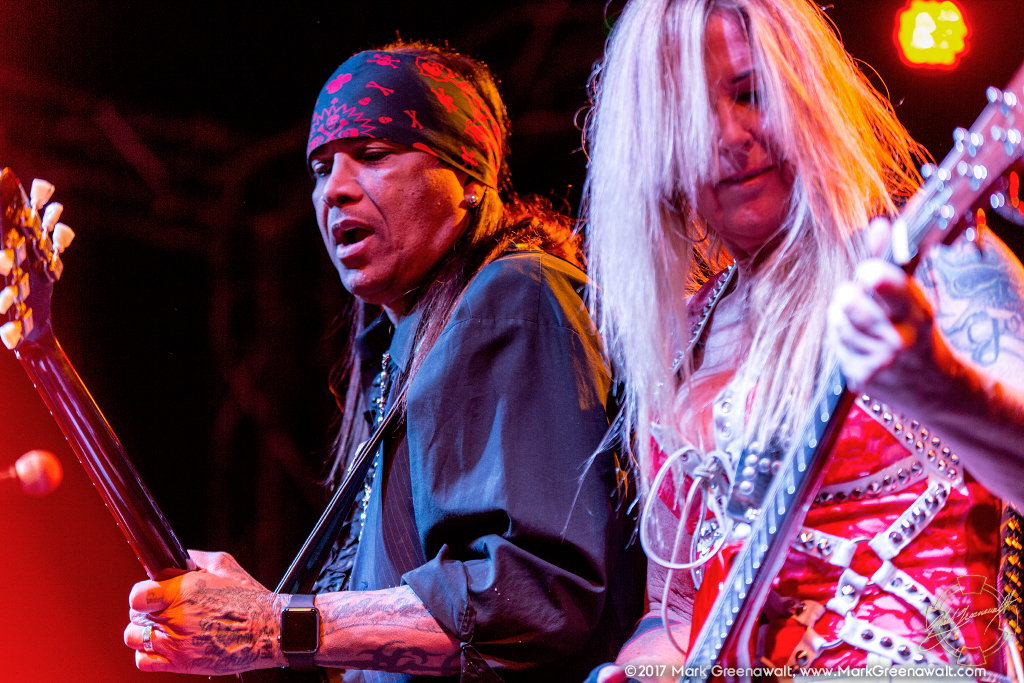 Micki Free & Lita Ford - Photo Credit: Mark Greenawalt, Burning Hot Events