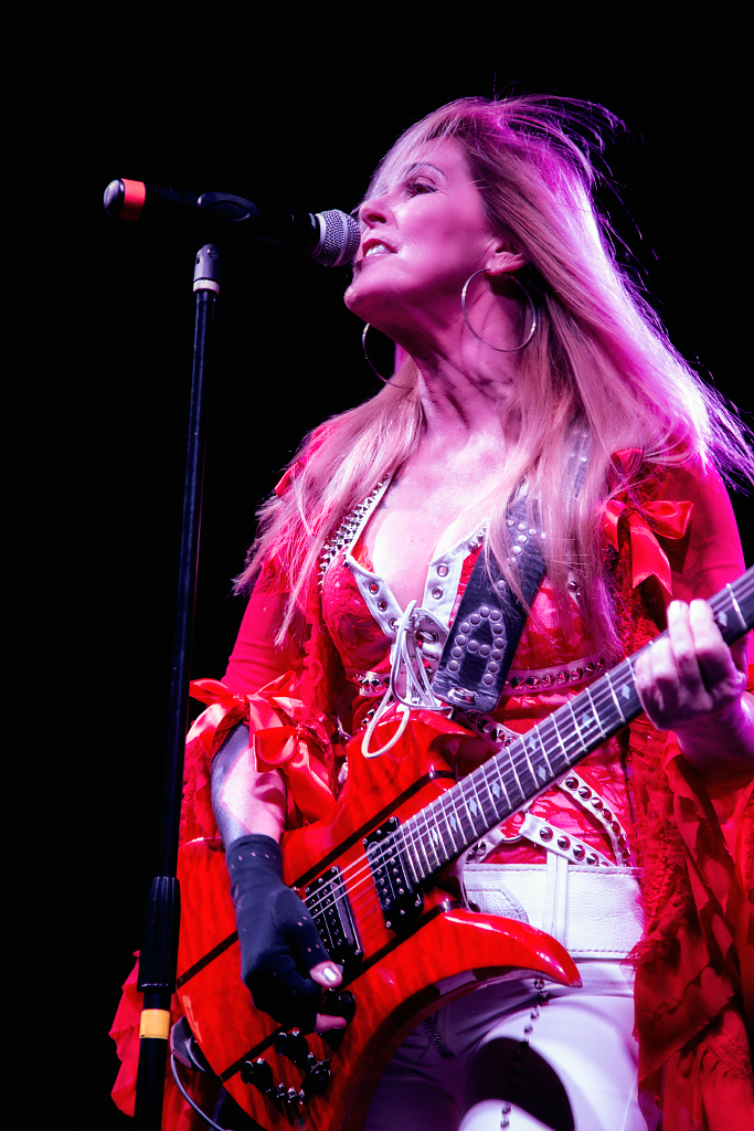Lita Ford - Photo Credit: Mark Greenawalt, Burning Hot Events