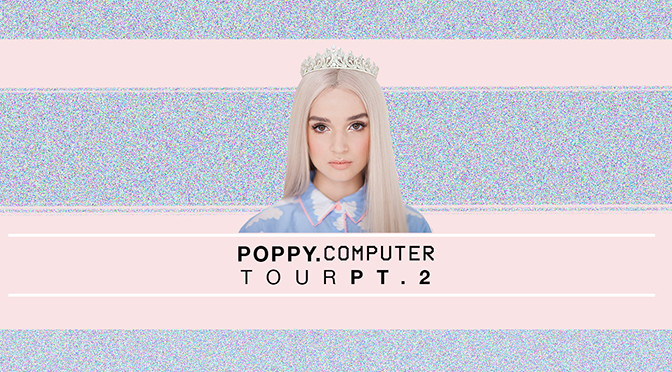 REVIEW: Poppy Catches Phoenix in Her Interweb on Valentine's Day at Crescent Ballroom 2-14-18