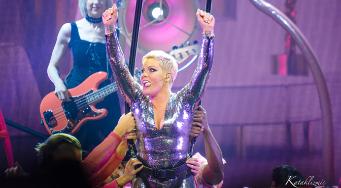 REVIEW: P!nk Launches Into World Tour in an Unforgettable Performance at Talking Stick Arena 3-1-18