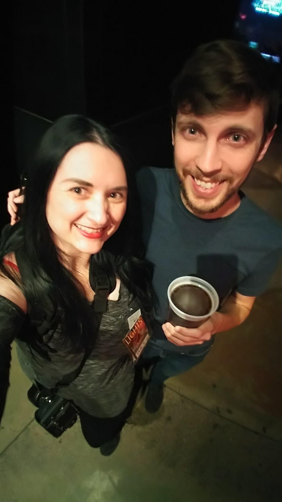 Katherine Amy Vega and Sean Tingle