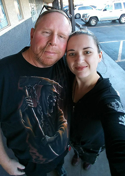 Russ Broty and Katherine Amy Vega