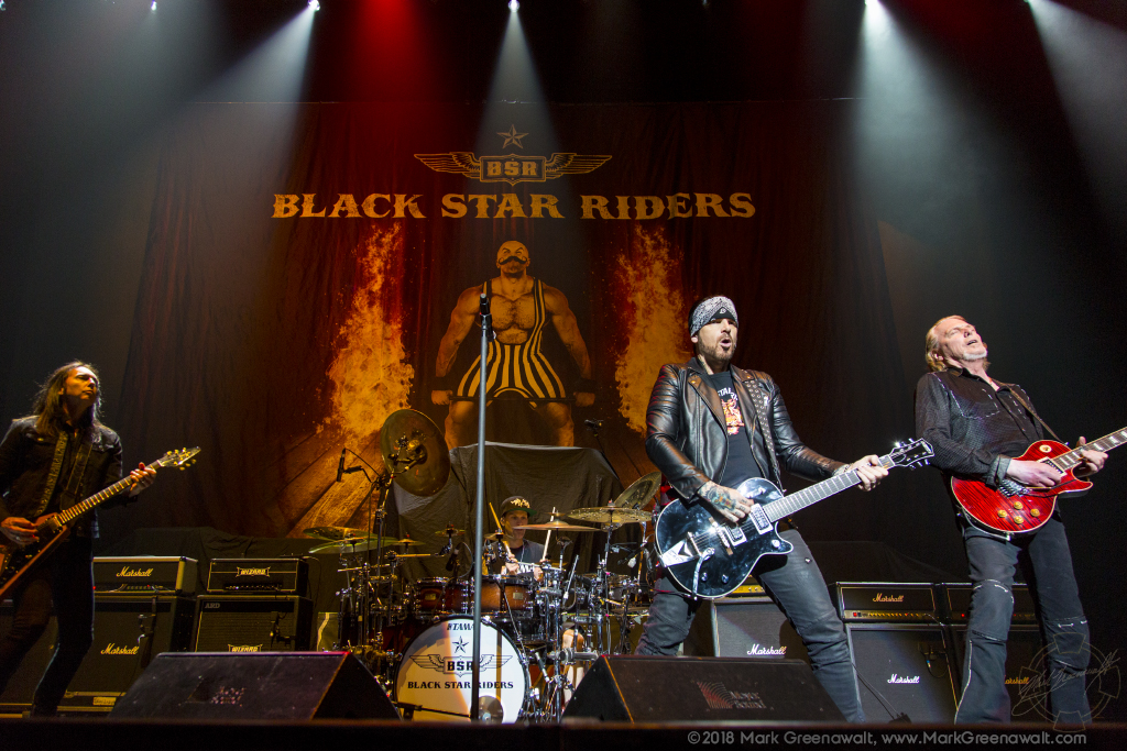 Black Star Riders - Photography: Mark Greenawalt