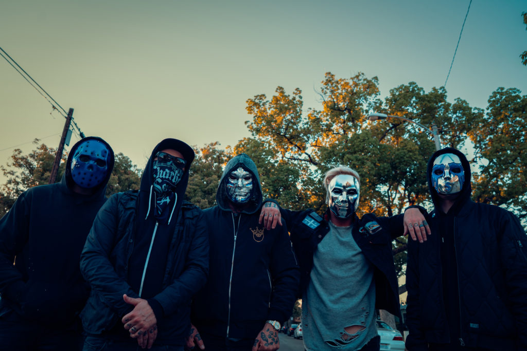 Hollywood Undead - Photography: Jake Stark