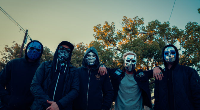 Hollywood Undead - Photography: Jake Stark