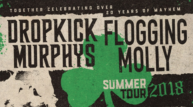 Additional Dates For Dropkick Murphys & Flogging Molly Co-Headlining Tour Announced, With Shows From September 17 – 29