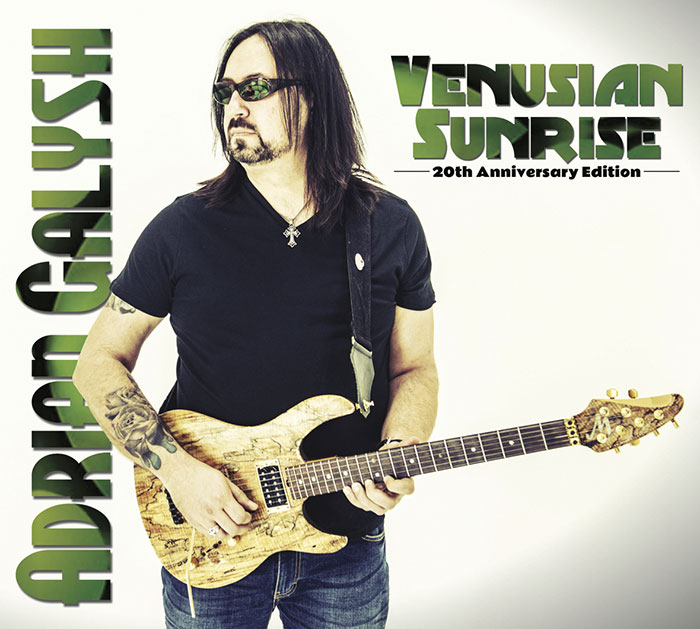 Venusian Sunrise 20th Anniversary Edition Cover