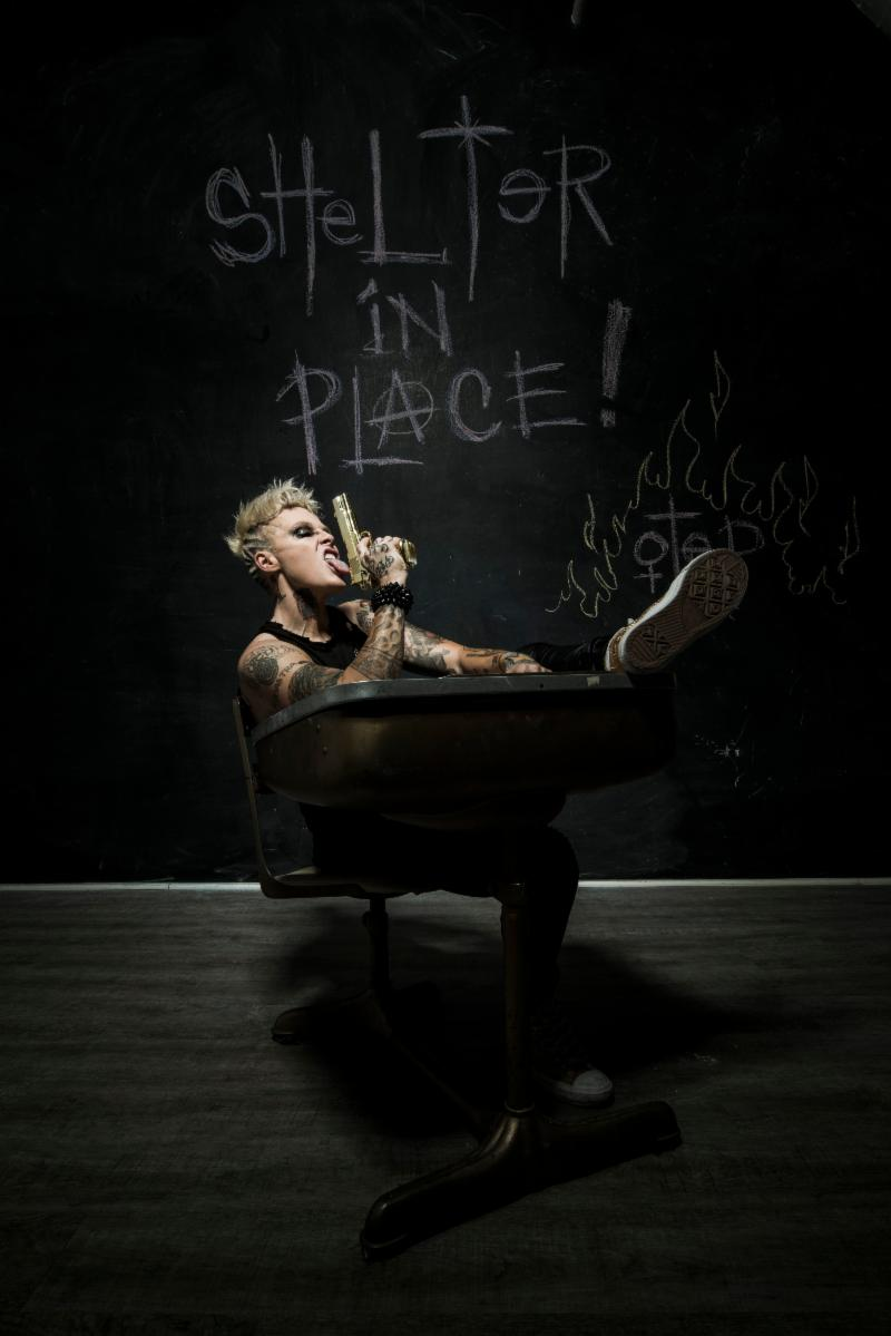 "Photo from ""Shelter In Place"" shoot by PR Brown"