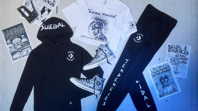 Converse x Suicidal Tendencies Footwear and Apparel