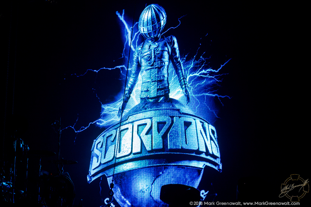 Scorpions spaceman logo
