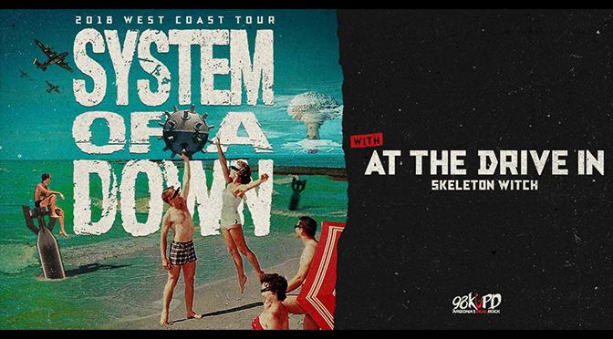 REVIEW: System of a Down Mezmerize Phoenix Fans (10-16-18)