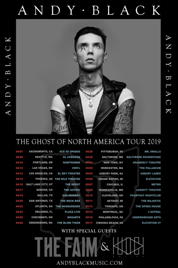 Andy Black Admat 2019 (feat The Faim)