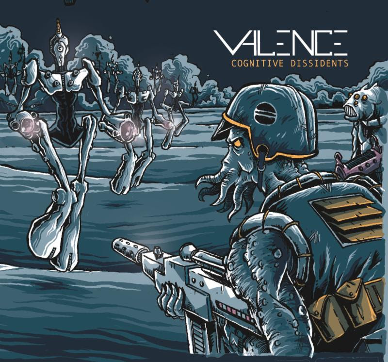 Valence Cognitive Dissidents Album Art
