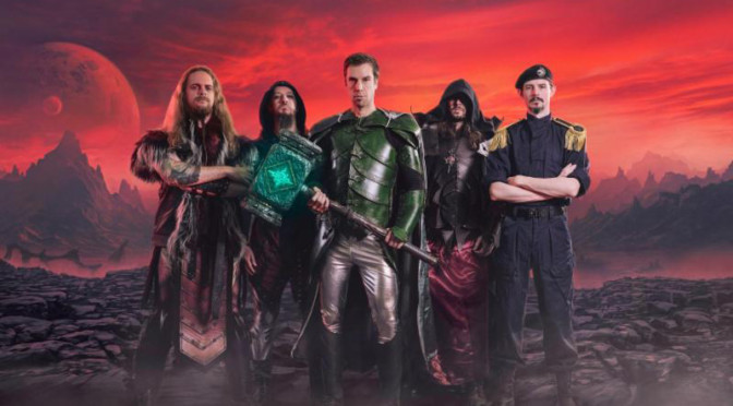 """Power Metal Giants GLORYHAMMER Release Fourth New Video for """"Masters of the Galaxy"""""""