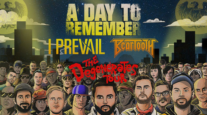 A Day to Remember Announces Fall 2019 'The Degenerates Tour'