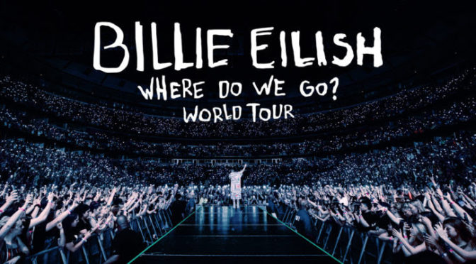 "Billie Eilish Announces 2020 Arena ""Where Do We Go?"" World Tour"
