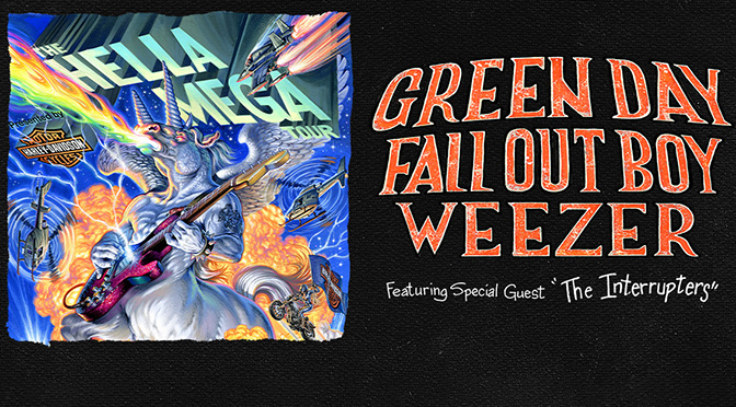 Rock Icons Green Day, Fall Out Boy, And Weezer Announce Global Stadium Hella Mega Tour