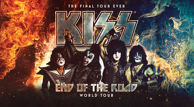 KISS Announced Today The 'End Of The Road' Comes To Its End July 21, 2021, Last Leg of Shows Also Announced