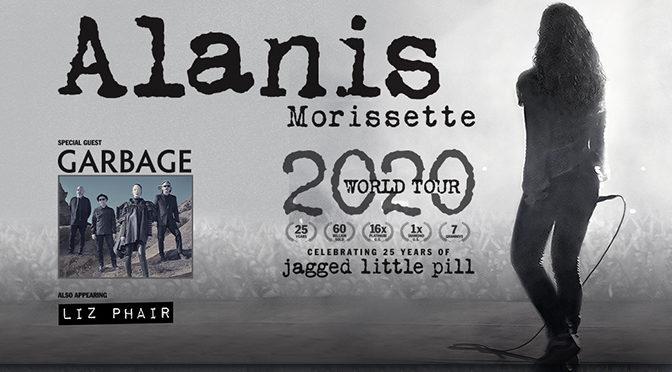 Alanis Morissette Announces 2020 Tour Celebrating 25 Years Of 'Jagged Little Pill'