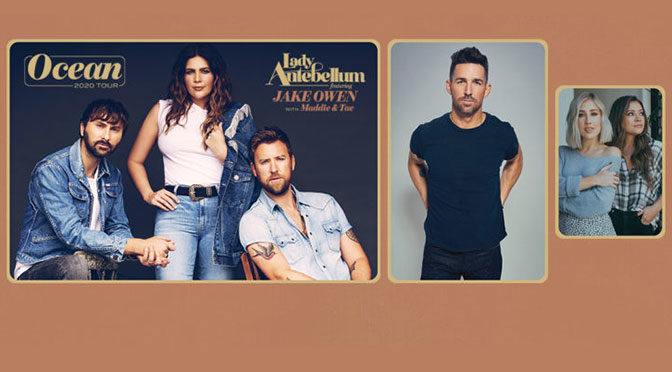 Lady Antebellum Sets Sail For 'Ocean 2020 Tour' Launching This May
