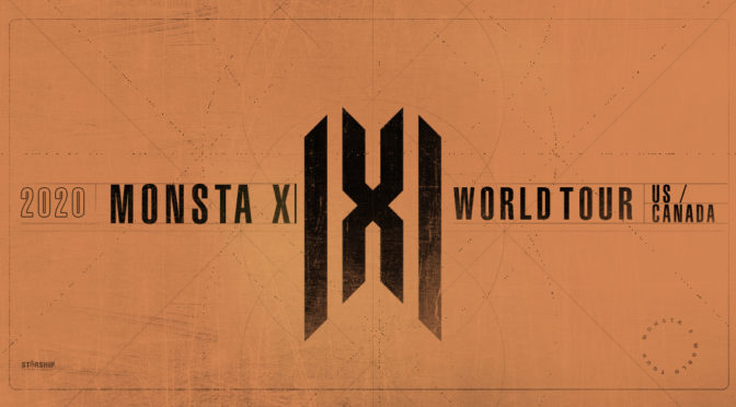 K-Pop Sensation MONSTA X Announces Summer Tour Across North America