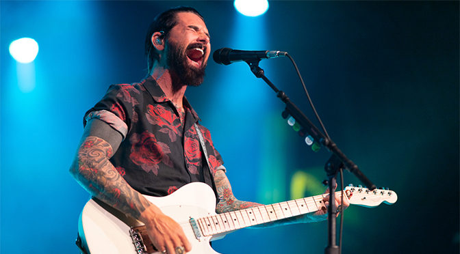 REVIEW: Dashboard Confessional Impassion Fans at Sold Out 20 Year Celebration at The Van Buren (2-7-20)