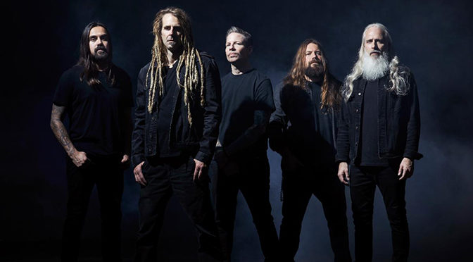 """Lamb of God Releases First New Music in Five Years, """"Checkmate,"""" from Upcoming Self-Titled Album, Due Out May 8"""
