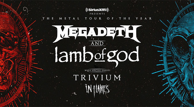 Megadeth and Lamb Of God Announce Massive 2020 Co-Headline Tour Across North America