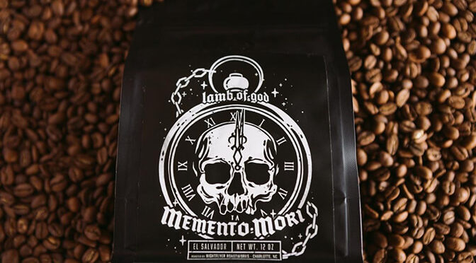 LAMB OF GOD Announces Collaboration with Nightflyer Roastworks for Memento Mori Coffee
